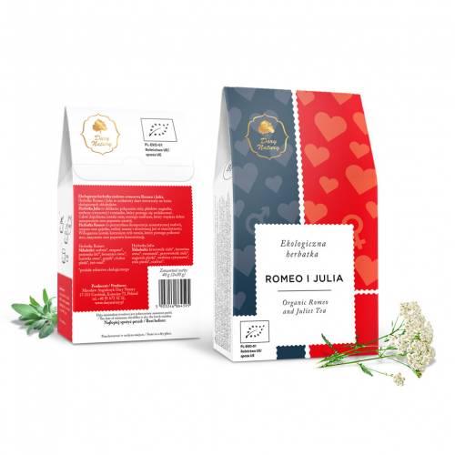 Herbata ROMEO i JULIA ekologiczna 40g (2x20g) Dary Natury