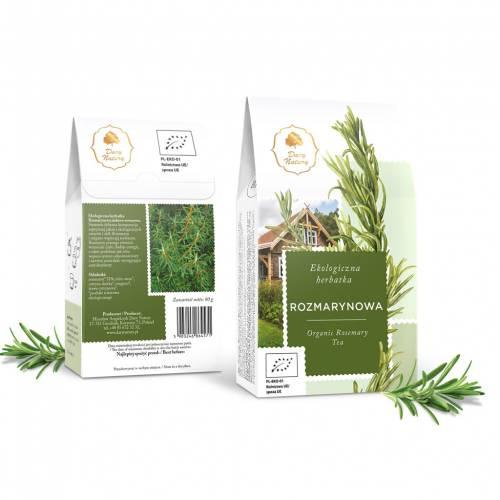 Herbata ROZMARYNOWA ekologiczna 80g Dary Natury