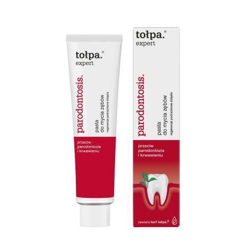 Pasta do mycia zębów 75ml Tołpa expert parodontosis