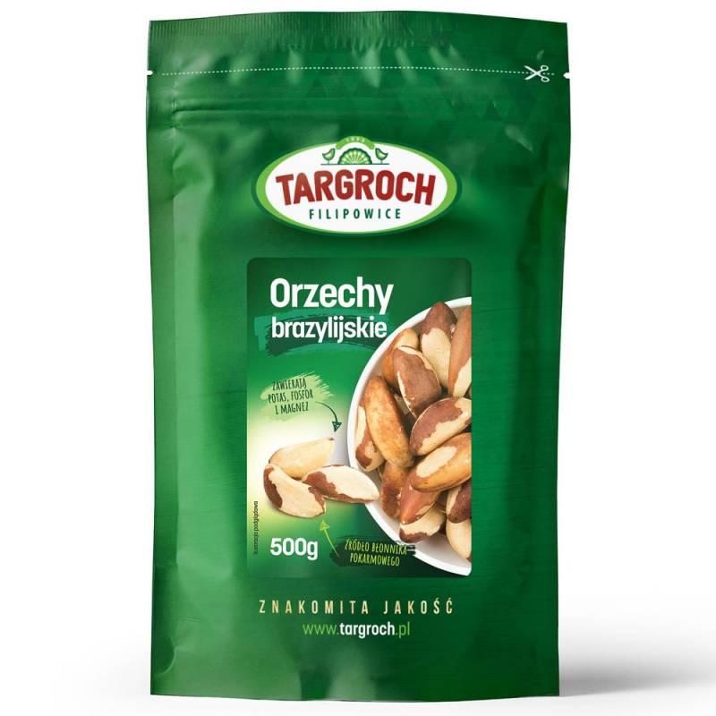 Orzechy brazylijskie 500g Targroch