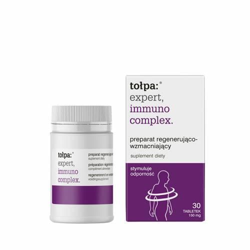 Preparat regenerująco-wzmacniający 30 tabletek 150 mg, Tołpa expert, immuno complex.
