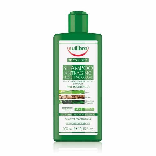 Przeciwstarzeniowy szampon chroniący kolor 300ml Equilibra Tricologica