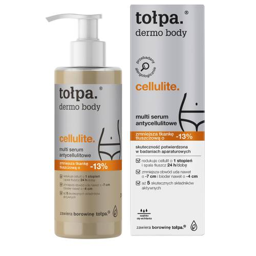 Multi serum antycellulitowe 250ml Tołpa dermo body cellulite