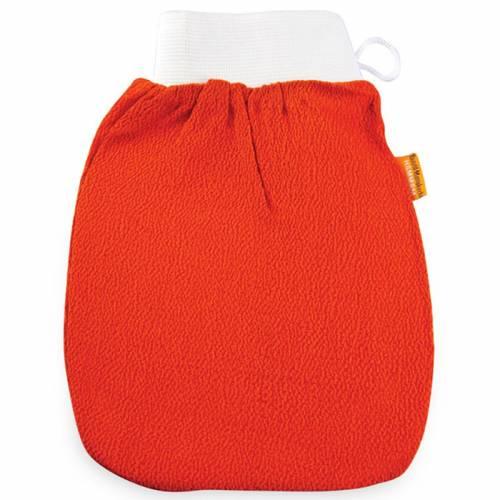 Rękawica Kessa do mycia i masażu ciała PREMIUM pomarańczowa Beaute Marrakech