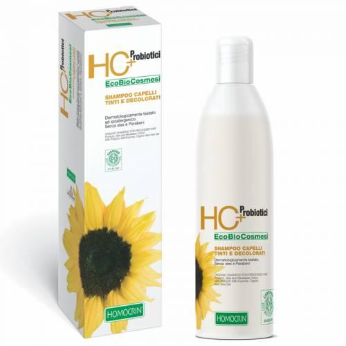 Szampon do włosów FARBOWANYCH i ROZJAŚNIANYCH z probiotykiem 250ml Specchiasol