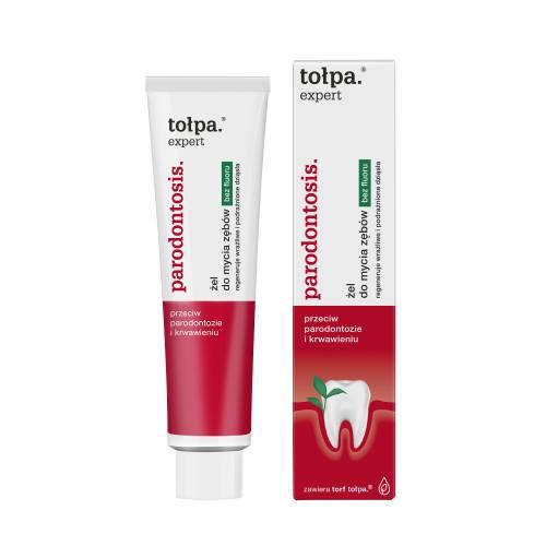 Żel do mycia zębów bez fluoru 75 ml Tołpa expert parodontosis