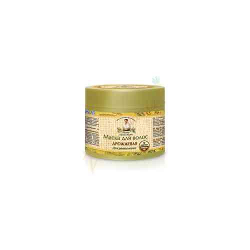 Maska do włosów drożdżowa - aktywacja wzrostu 300 ml Recepty Babci Agafii