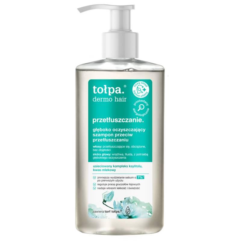 Głęboko oczyszczający szampon przeciw przetłuszczaniu 250ml Tołpa dermo hair