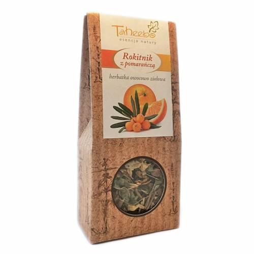 Herbatka owocowo-ziołowa ROKITNIK Z POMARAŃCZĄ 50g Taheebo