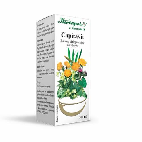 Ziołowy balsam do włosów CAPITAVIT 100ml
