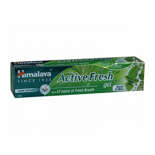 Pasta do zębów ACTIVE FRESH 80g Himalaya Herbals