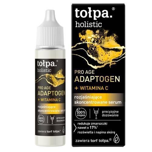 Rozjaśniające skoncentrowane serum 20ml Tołpa holistic