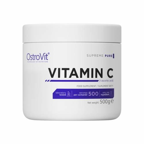Witamina C w proszku, kwas L-askorbinowy 500g OstroVit Supreme Pure