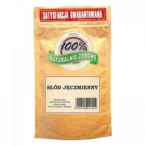 Słód do wypieków JĘCZMIENNY karmelowy w proszku 500 g Naturalnie Zdrowe
