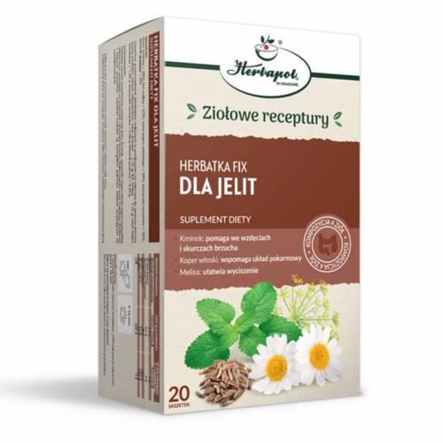 Herbatka fix dla JELIT 20x2g Herbapol Kraków
