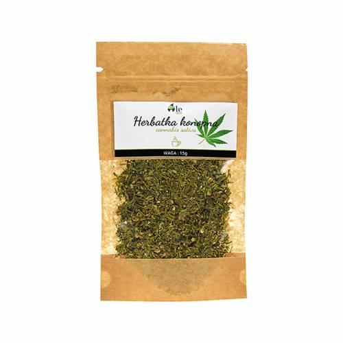 Herbata konopna (Cannabis Sativa) 15g Ale Ziółko