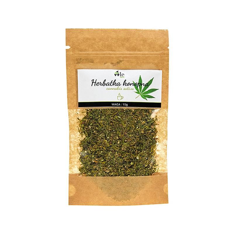 Herbata z kwiatostanu i liści konopii siewnej 15g Ale Ziółko