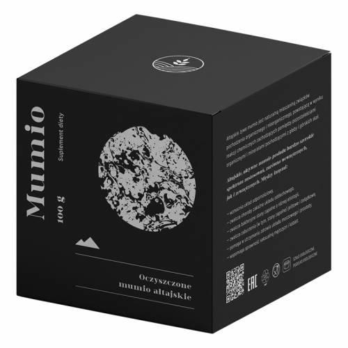 Żywe MUMIO ałtajskie, suplement diety 100g Natruly
