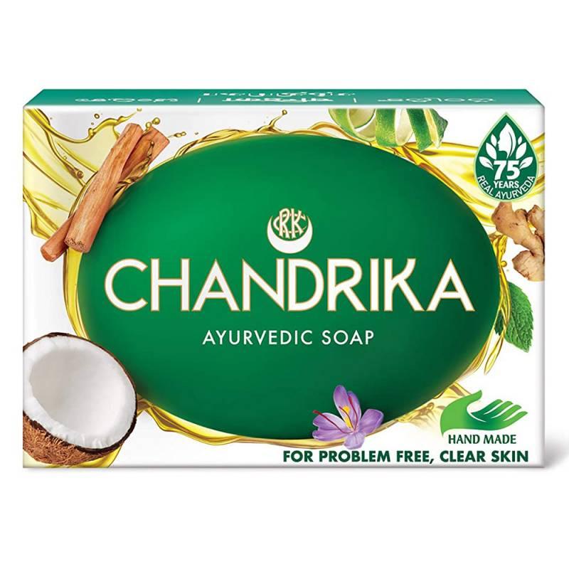 Indyjskie mydło CHANDRIKA original 125g