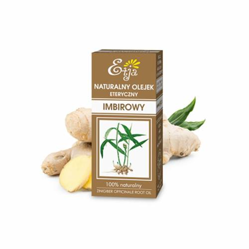 Naturalny olejek eteryczny IMBIROWY 10ml Etja