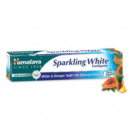 Pasta do zębów SPARKLING WHITE 150g Himalaya Herbals