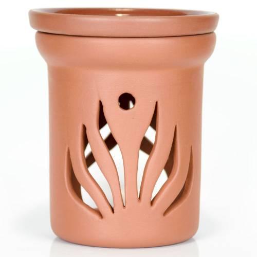Ceramiczny kominek walcowy do aromaterapii PŁOMIENIE Green Village