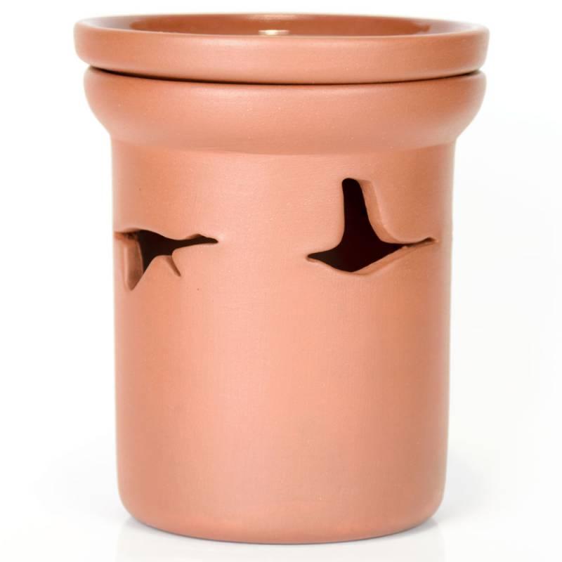 Ceramiczny kominek walcowy do aromaterapii GĘSI Green Village