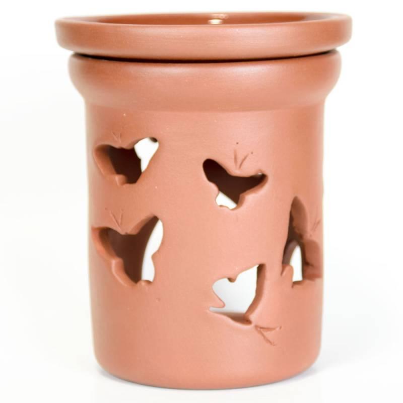 Ceramiczny kominek walcowy do aromaterapii MOTYLE Green Village