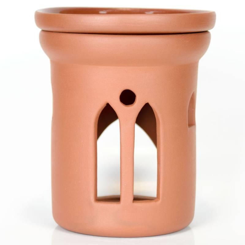 Ceramiczny kominek walcowy do aromaterapii GOTYK Green Village