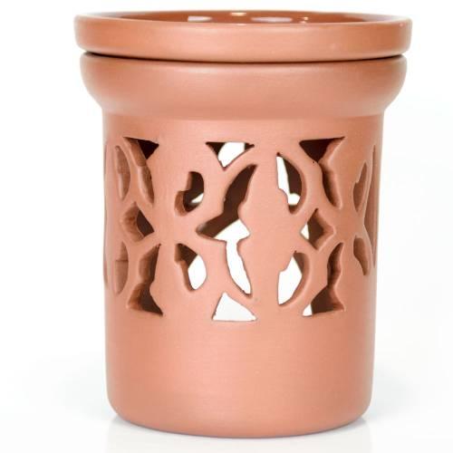Ceramiczny kominek walcowy do aromaterapii BAROK Green Village