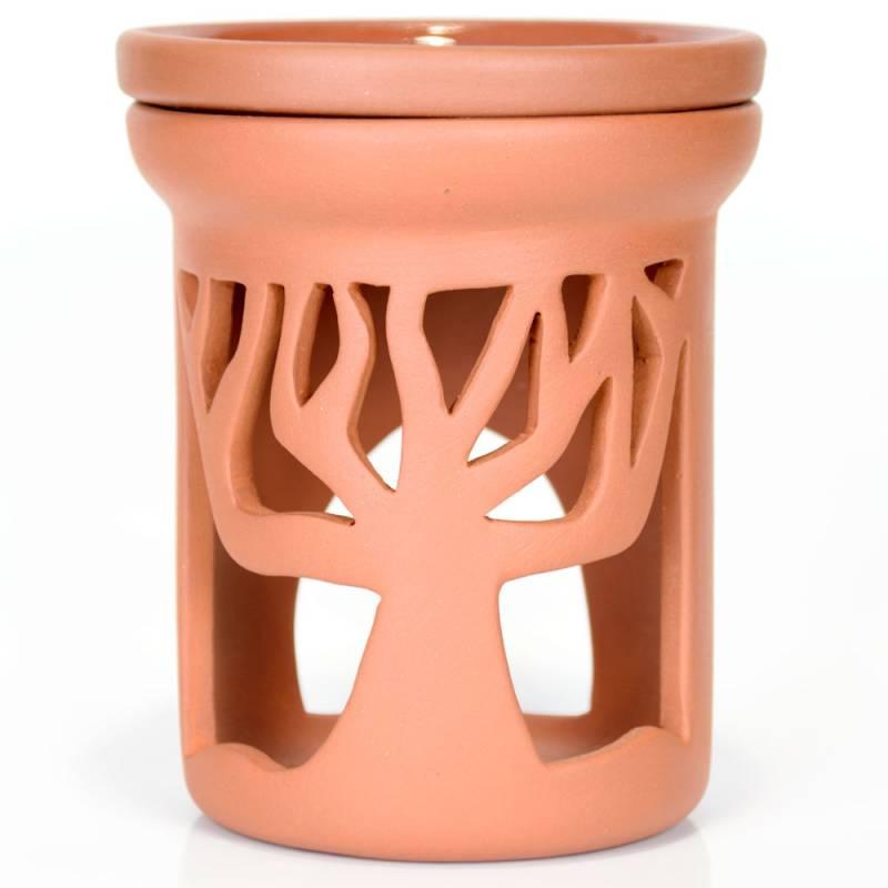 Ceramiczny kominek walcowy do aromaterapii DRZEWO Green Village