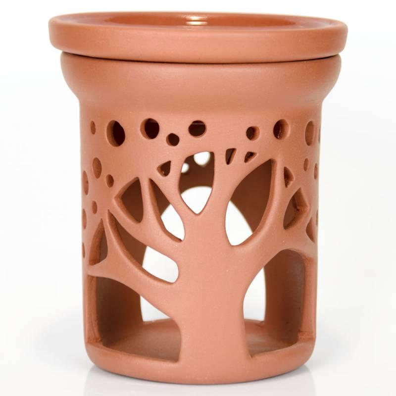 Ceramiczny kominek walcowy do aromaterapii BAOBAB Green Village