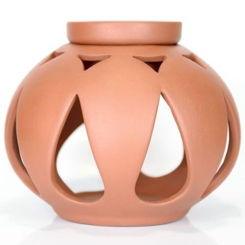 Ceramiczny kominek kulisty do aromaterapii ŁZA Green Village