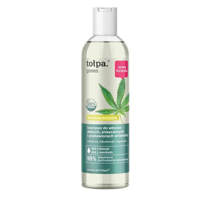 Wzmacniający szampon do włosów osłabionych 300ml Tołpa green