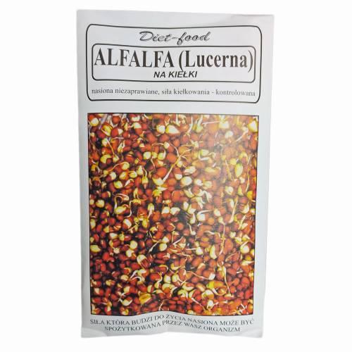 Nasiona na kiełki LUCERNA (ALFALFA) 80g Diet-Food