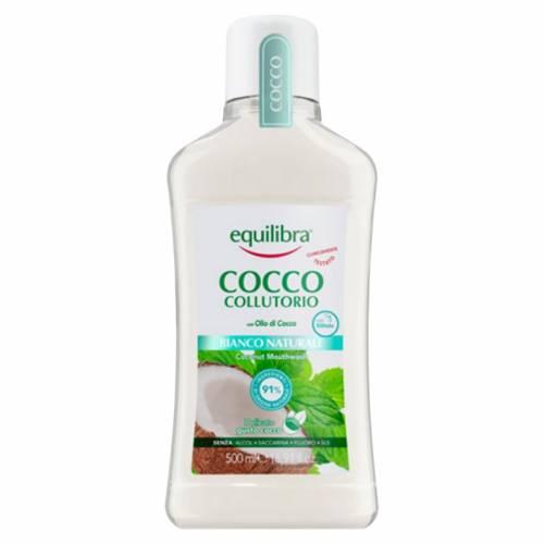 Kokosowy płyn do płukania jamy ustnej kokosowy 500ml Equilibra