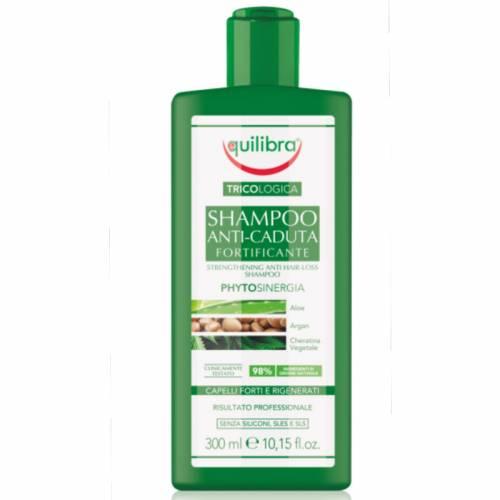 Wzmacniający szampon przeciw wypadaniu włosów 300ml Equilibra Tricologica