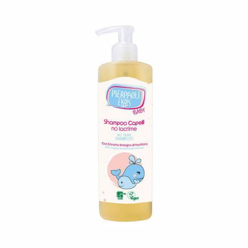 Delikatny szampon dla dzieci i niemowląt NO TEARS, bez łez, 400ml Pierpaoli Ekos Baby