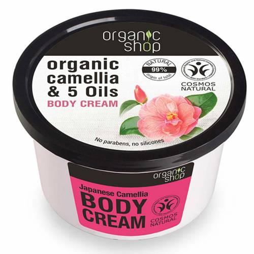 Krem do ciała japońska KAMELIA 250ml Organic Shop
