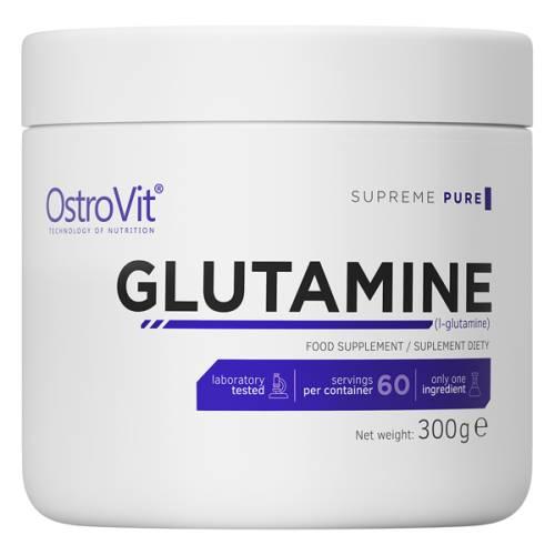 Aminokwas GLUTAMINE L-glutamina  300g OstroVit Supreme Pure