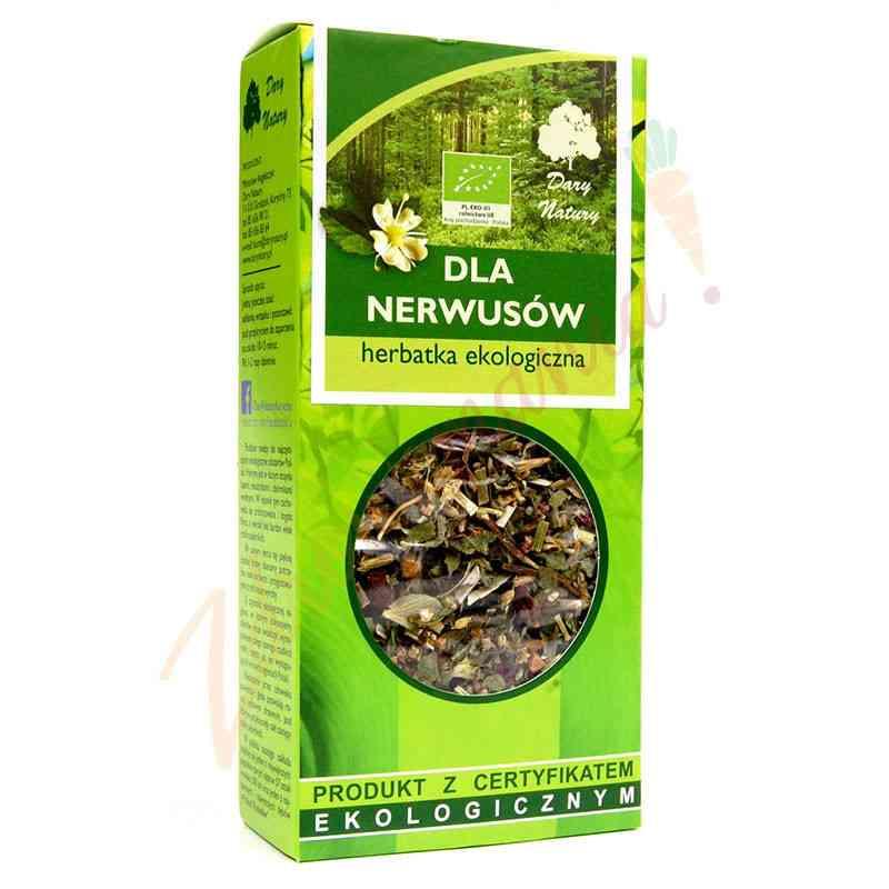 Herbata dla nerwusów ekologiczna 50g Dary Natury