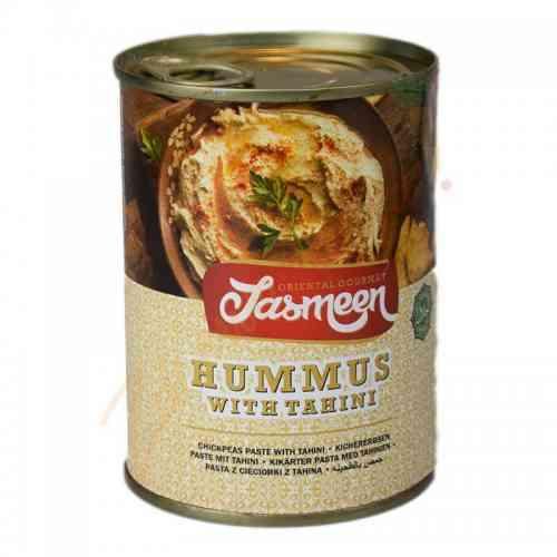 Hummus z cieciorki z pastą tahini 330g  Jasmeen