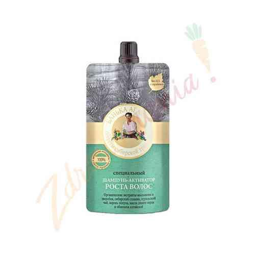 Specjalny szampon przyśpieszający wzrost włosów 100 ml, Bania Agafii