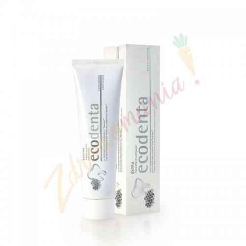 Pasta do zębów o potrójnym działaniu z białą glinką, propolisem i TEAVIGO 100 ml, Ecodenta