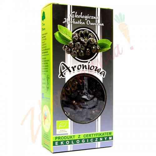 Herbata aroniowa (owoc aronii) ekologiczna 100 g, Dary Natury