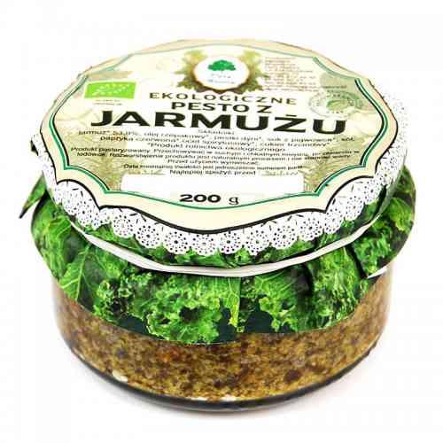 Ekologiczne pesto z jarmużu 200 g, Dary Natury