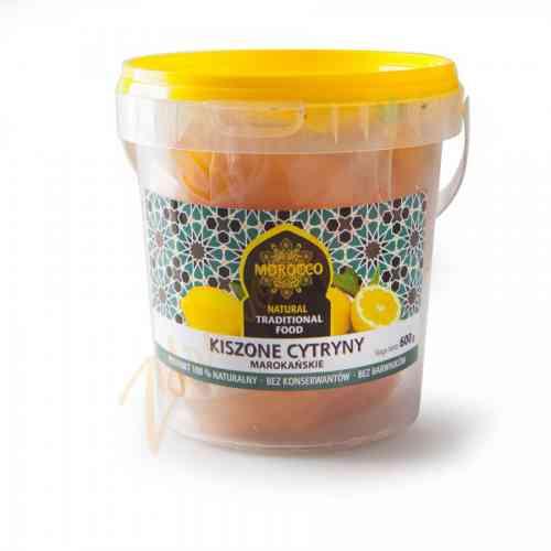 Tradycyjne marokańskie kiszone cytryny 600 g