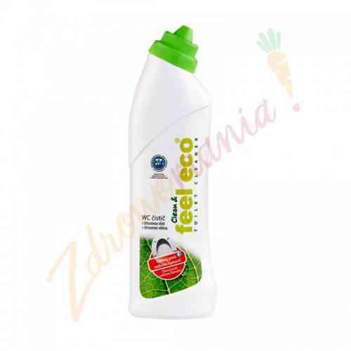 Płyn do czyszczenia WC o zapachu cytryny 750 ml, Feel Eco