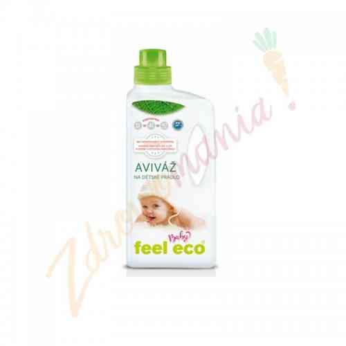 Płyn do płukania dziecięcych ubranek 1 l, Feel Eco