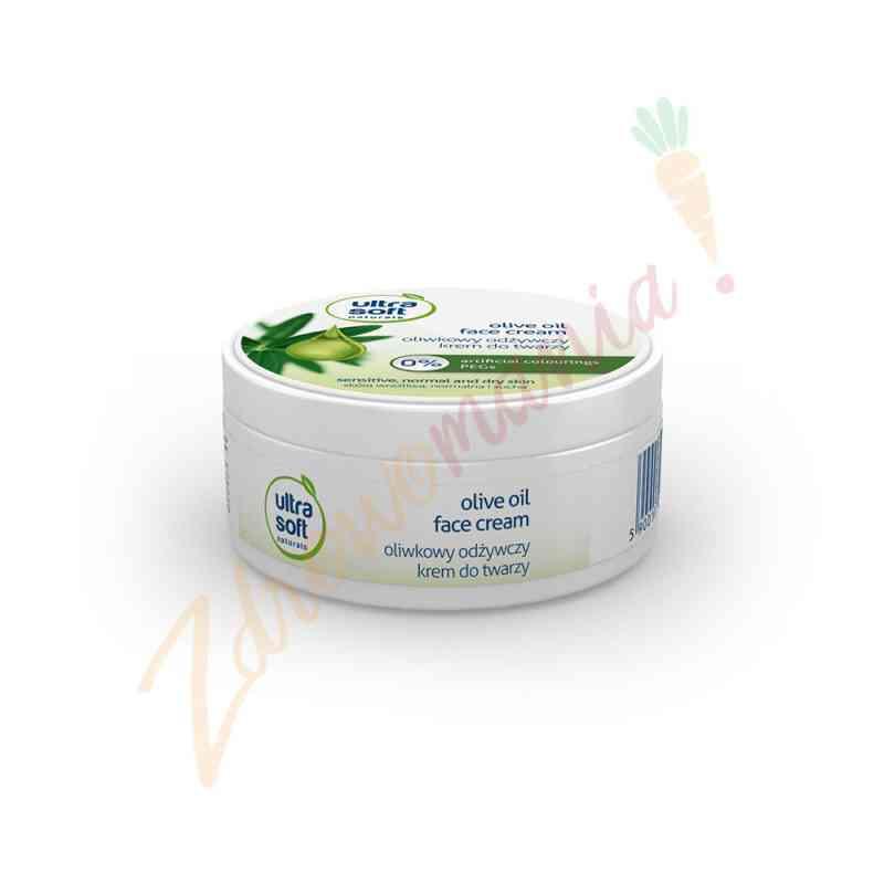 Oliwkowy odżywczy krem do twarzy 100 ml, Ultra Soft Naturals